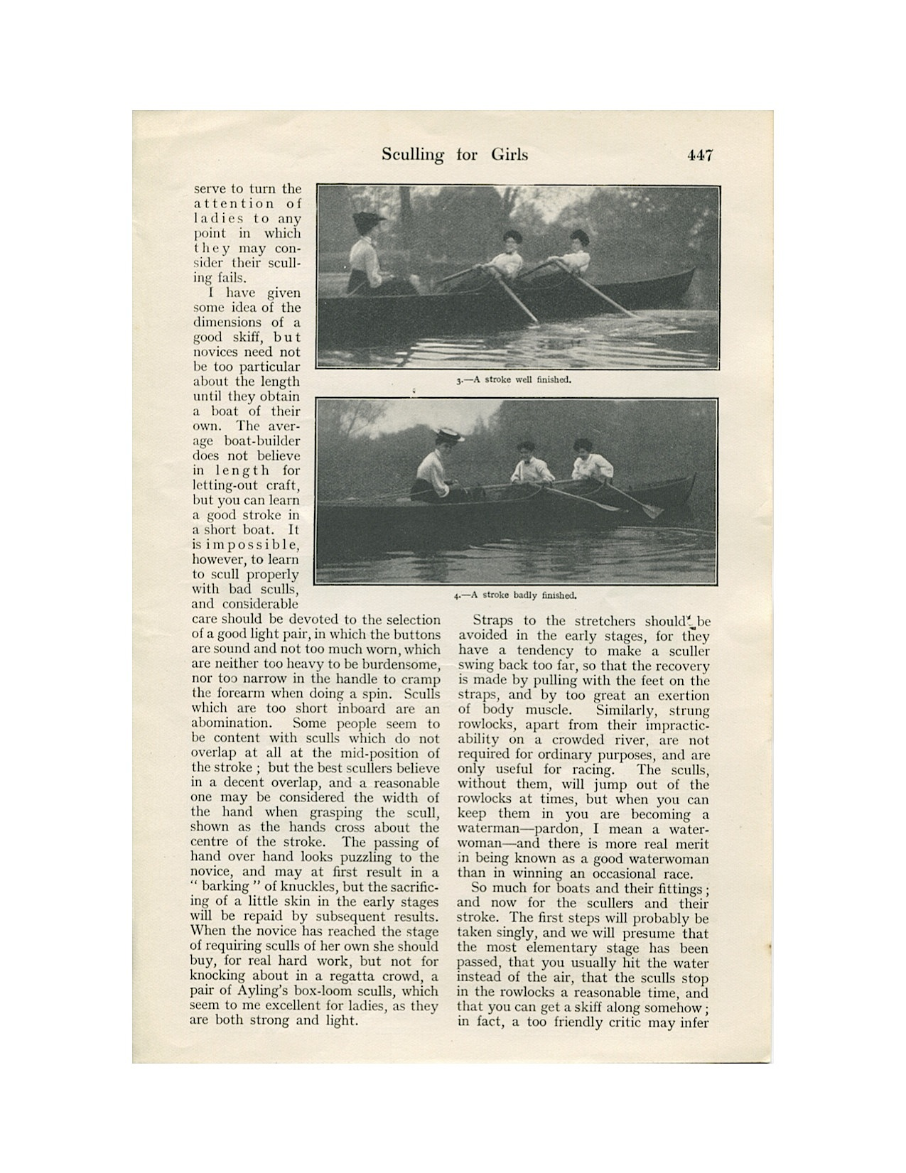 Sculling for Girls 1906-3