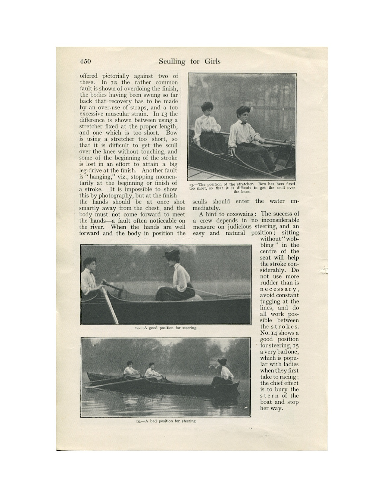 Sculling for Girls 1906-6